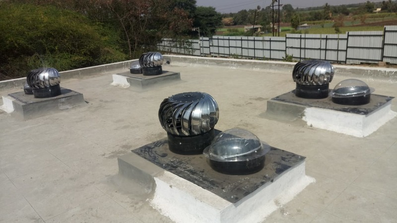 turbo ventilator on concrete slab eview global