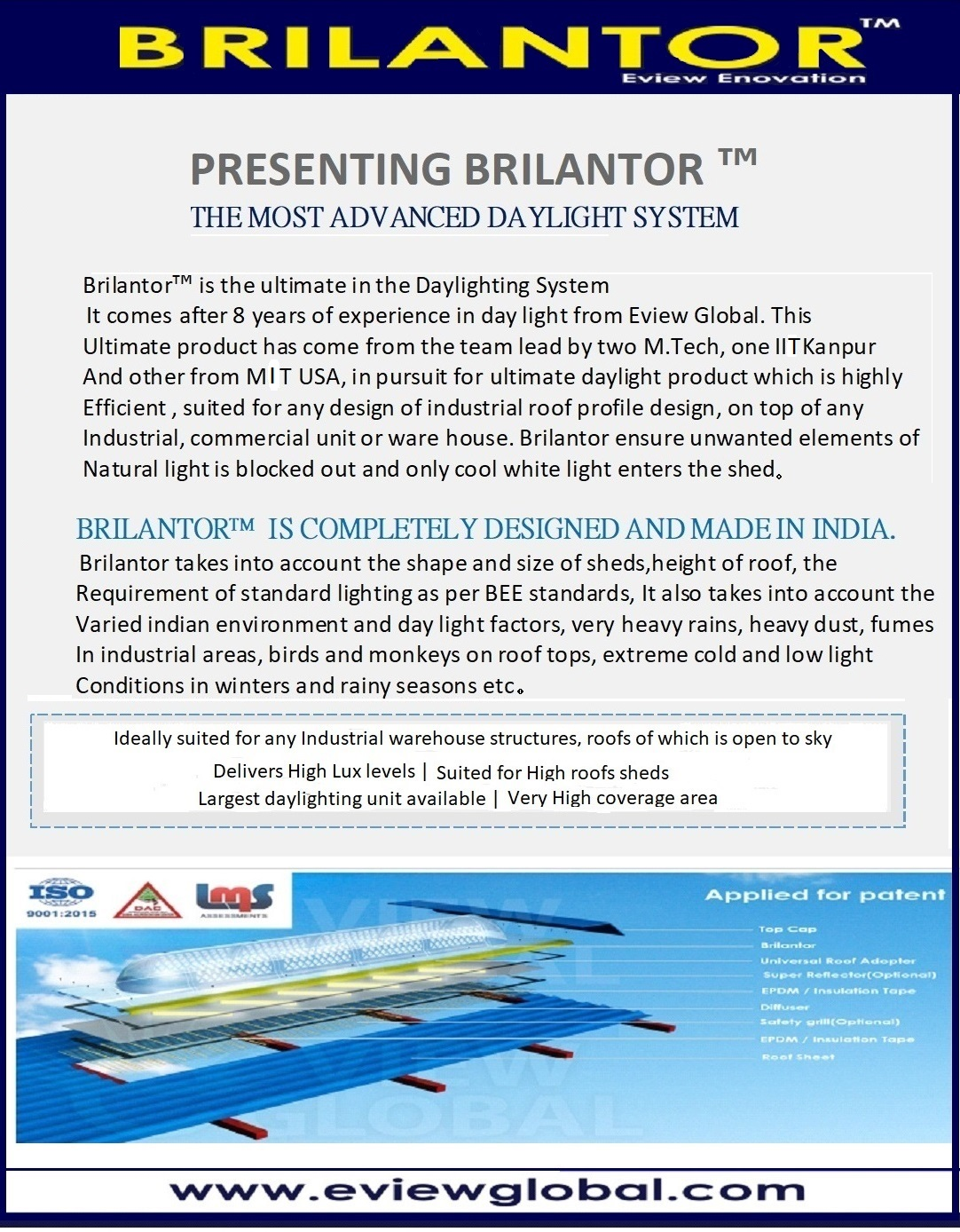 brilantor brochure